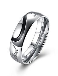Fashion Stainless Steel Rings Simple Design Men Wedding Rings TGR126