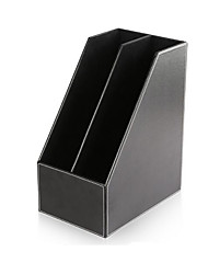 High Grade Leather Desktop Magazine Finishing / Filing File File Storage Frame
