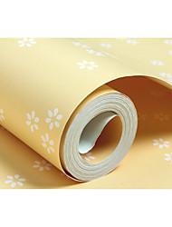 Цветочные Деревья / Листья Обои Для дома Современный Облицовка стен , Нетканые бумаги материал Клей требуется обои , Обои для дома