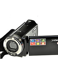 hd 720p 12MP câmera de vídeo digital filmadora dv dvr 2.7 '' TFT LCD de 16x zoom