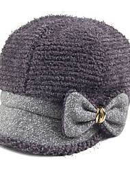 Winter New Hat British Style Lady Bow Cap Fashion Ladies Fashion Cap