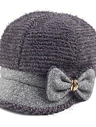 Winter New Hat British Style Lady Bow Cap Fashion Ladies Fashion Cap