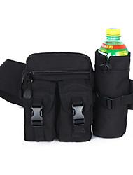 Pochete Bolsa de Ombro Bolsa de cinto Bolsa Transversal para Acampar e Caminhar Montanhismo Esportes de Lazer Caça Viajar CiclismoBolsas