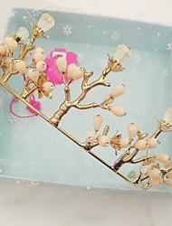 Women's Crystal Alloy Headpiece-Wedding Special Occasion Casual Tiaras 1 Piece