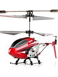 Пропеллер SYMA S107G 3-канальн. 2.4G 1:12 Самолет RC 100KM / H Красный Готов к использованию Квадкоптер Hа пульте Yправления