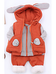 Boy Casual/Daily Solid Sets,Rayon Winter Fall Clothing Set