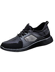 Men's Athletic Shoes Fall Other Other Animal Skin Outdoor Low Heel Lace-up Black Red Gray Walking
