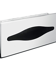 Stainless Steel Hidden Outfit Tissue Box - Silver
