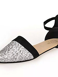 Sandals Spring Summer Fall Comfort PU Casual Low Heel Others Purple Silver Other
