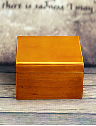 Music Box Square Wood Boys' Girls'