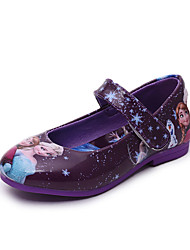 Sandals Spring Fall Winter Comfort Light Up Shoes PU Casual Low Heel Lace-up Others Blue Purple Red Other