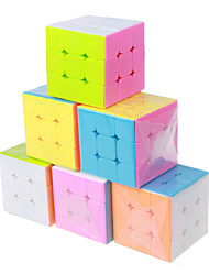 The color is smooth three cube assembly (6pcs)
