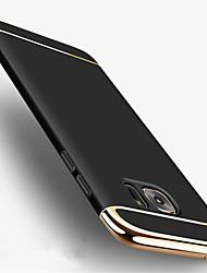 Para la galaxia s8 de Samsung más 3 en 1 caja de la contraportada de la caja de la contraportada del color sólido de la contraportada de la caja