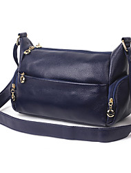 Women Cowhide Formal Sports Casual Event/Party Wedding Outdoor Office & Career Professioanl Use Shoulder Bag
