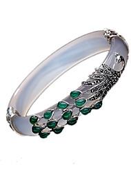 Women's Cuff Bracelet Jewelry Personalized Peacock Sliver Jewelry 1pc