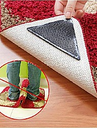 4Pcs Ruggies Rug Carpet Mat Grippers Non Slip Reusable Washable Silicone Grip