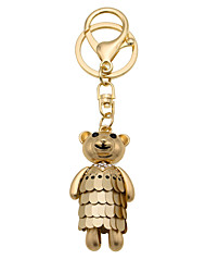 Creative diamond cute bear Keychain car gift bag ornaments