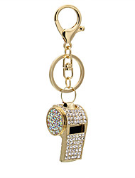 Europe and the United States can whistle personality diamond bag small mobile phone pendant
