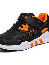 Garçon-Extérieure Sport-Rose Orange Vert clair-Talon Plat-Confort-Chaussures d'Athlétisme-Tulle Similicuir