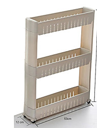 3 Layers White Color Removable High Quality with Plastic Racks Holders