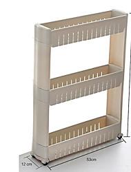 3 couches couleur blanche amovible de haute qualité avec les détenteurs de supports en plastique