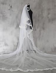 Hochzeitsschleier ZweischichtigSchulterlange Schleier Ellbogenlange Schleier Fingerspitzenlange Schleier Kapellen Schleier Kathedralen