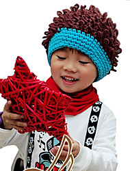 Unisex Knitting Cute Winter Going out/Casual/Daily Boy And Girl Keep Warm Headgear Bang Wig Hat Children Cap