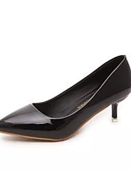 Для женщин Обувь на каблуках сутулятся сапоги Удобная обувь Полиуретан Осень Зима Повседневные сутулятся сапоги Удобная обувьНа низком