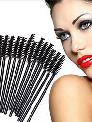 50 ריס מברשת שיער סינטטי מקצועי ידידותי לסביבה נייד פלסטיק עין אחרים
