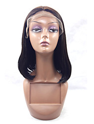 Heat Resistant Short Synthetic Lace Front Bob Wig Straight Hair Black Color Synthetic Hair Lace Wig For Woman 10-20 Inch