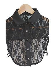 Gargantillas / Collar Joyas Cumpleaños Diario Casual Others Diseño Básico Tela de Encaje Mujer 1 pieza Regalo Negro