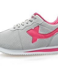 X-tep® Tênis Mulheres Almofadado Anti-desgaste Respirável Malha Respirável Borracha Correr Esportes Relaxantes
