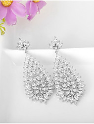 Non Stone Stud Earrings Jewelry Women Wedding Party Daily Casual Alloy 1 pair As Per Picture