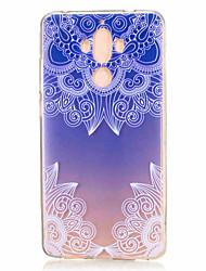 Для С узором Кейс для Задняя крышка Кейс для Цветы Мягкий TPU для Huawei Huawei Honor 8 Huawei Honor 5C Huawei Mate 9