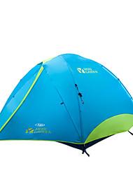 MOBI GARDEN® 3-4 Personen Zelt Doppel Automatisches Zelt Zwei Zimmer Camping Zelt OxfordWasserdicht Atmungsaktivität UV-resistent