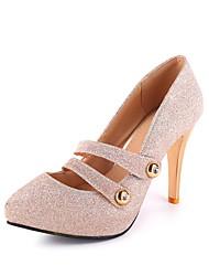Women's Heels Spring Summer Fall Gladiator Glitter Wedding Office & Career Dress Casual Party & Evening Stiletto HeelSparkling Glitter