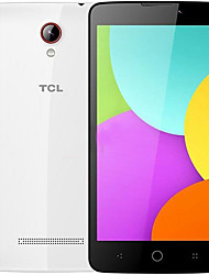 "TCL 302U 5.0 "" Android 4.4 Smartphone 4G ( SIM Dual Quad Core 5 MP 1GB + 8 GB Blanco Gris )"