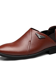Westland's Men's Oxfords / British Style / Business / Comfort/ Office & Career / Casual Black/Brown Walking