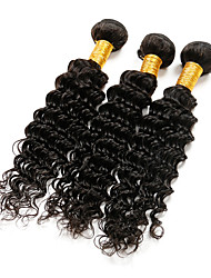 Indian Virgin Hair Deep Wave 4 Bundles Ali MICE Indian Curly Virgin Hair Pineapple Indian Deep Curly Human Hair Extensions