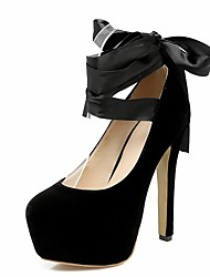 Women's Heels Spring Summer Fall Winter Comfort Novelty Slingback Club Shoes Light Up Shoes Synthetic Patent Leather Leatherette PU
