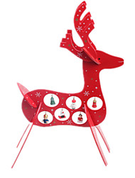 WOOD DEER CHRISTMAS HOME DECORATION DECORATION