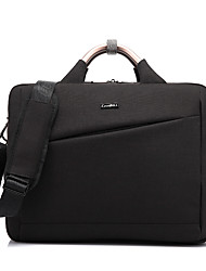 Coolbell 15,6 pouces nylon résistant à l'eau top fermeture à glissière ordinateur portable porte-documents sac à main cb-6605