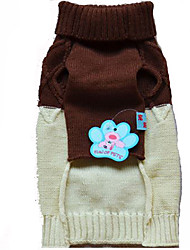 Dog Coat Dog Clothes Cute British Brown