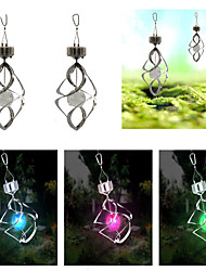 Home Solar Lights Solar Wind Chimes Lights Garden Decoration Wind Turn Lights Colorful Night Lights