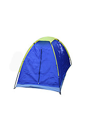 1 person Tent Single One Room Camping Tent FiberglassWaterproof Breathability Dust Proof Windproof Rectangular Anti-Mosquito Foldable