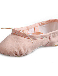Customizable Women's Dance Shoes  Canvas Ballet Flat Heel Practice Beginner Professional Indoor Performance More colors
