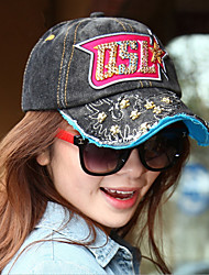 Spring And Summer New Men And Women Denim Skirt Flat Turn Hip-Hop Baseball Hats