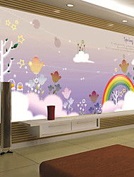 JAMMORY Art DecoWallpaper For Home Wall Covering Canvas Adhesive required Mural Cartoon Children's Room XL XXL XXXL