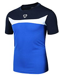 Sports Cycling Jersey Men's Short Sleeve BikeBreathable / Quick Dry / Ultraviolet Resistant / Lightweight Materials / Sweat-wicking /