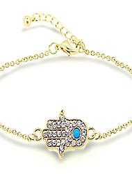 Damen Ketten- & Glieder-Armbänder Modisch Aleación Die Hand von Fatima Schmuck Für Sport Weihnachts Geschenke 1 Stück